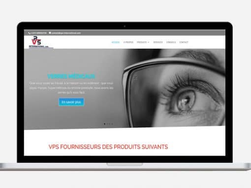 Création site web VPS International